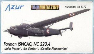 Farman (SNCAC) NC 223.4 Jules Verne · AZU AIR-72 006 ·  Azur · 1:72