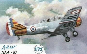 North American NAA-57/BT9 · AZU AZU-72 009 ·  Azur · 1:72
