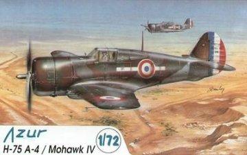 Curtiss H-75 A-4 Mohawk IV · AZU AZU-72 013 ·  Azur · 1:72