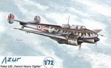 Potez 630 French Heavy Fighter · AZU AZU-72 036 ·  Azur · 1:72
