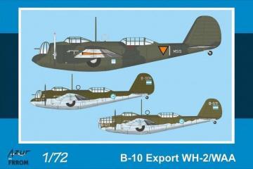B-10 Export WH-2/WAA · AZU FR0042 ·  Azur · 1:72