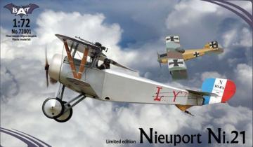 Nieuport Ni.21, France · BAT 72001 ·  BAT Project · 1:72