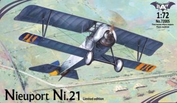 Nieuport Ni.21, Ukraine · BAT 72005 ·  BAT Project · 1:72