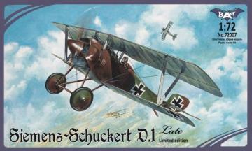 Siemens-Schuckert D.1, late · BAT 72007 ·  BAT Project · 1:72