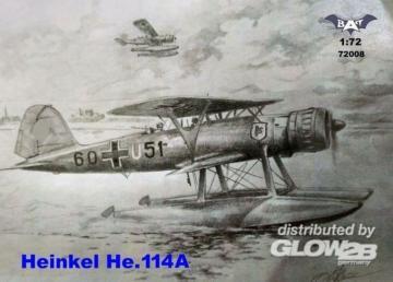 Heinkel He 114A Floatplane · BAT 72008 ·  BAT Project · 1:72