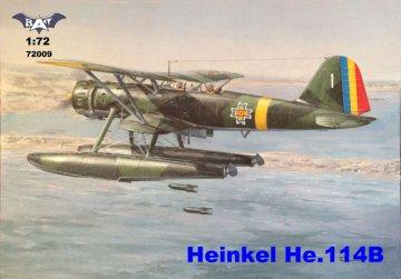 Heinkel He 114B - Floatplane · BAT 72009 ·  BAT Project · 1:72