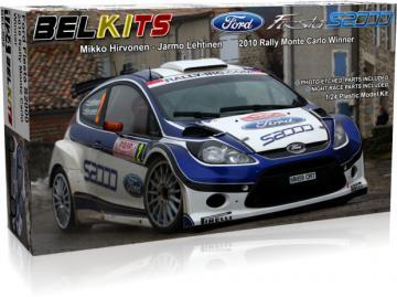 Ford Fiesta S2000 Hirvonen - Ralley Monte Carlo 2010 · BLK 002 ·  Belkits · 1:24
