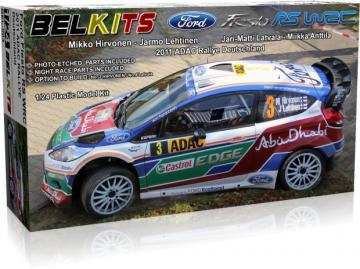 Ford Fiesta RS - 2011 ADAC Rallye Deutschland · BLK 003 ·  Belkits · 1:24