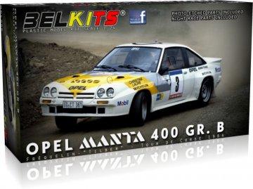 Opel Manta 400 GR.B Tour de corse 1984 Frequelin -Tilber · BLK 008 ·  Belkits · 1:24