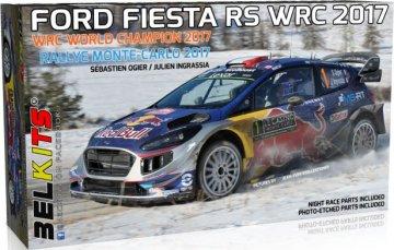 Ford Fiesta RS WRC 2017 - Rallye Monte Carlo 2017 - Sebastian Ogier · BLK 012 ·  Belkits · 1:24