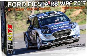 Ford Fiesta RS WRC 2017 - Tour de Corse - Ott Tänak · BLK 013 ·  Belkits · 1:24