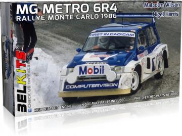 MG METRO 6R4,Rallye Monte Carlo 1986 · BLK 015 ·  Belkits · 1:24