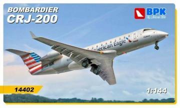 Bombardier CRJ 200 American Eagle · BPK 14402 ·  Big Planes Kits · 1:144