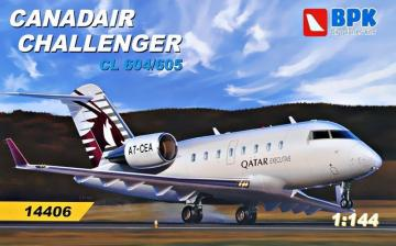 Canadair Challenger CL 604/605 · BPK 14406 ·  Big Planes Kits · 1:144