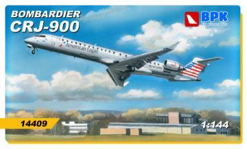 Bombardier CRJ-900 American Eagle · BPK 14409 ·  Big Planes Kits · 1:144