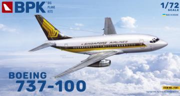 Boeing 737-100 Singapore Airlines · BPK 7201 ·  Big Planes Kits · 1:72