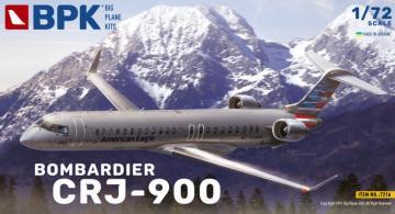 Bombardier CRJ-900 American Eagle · BPK 7216 ·  Big Planes Kits · 1:72