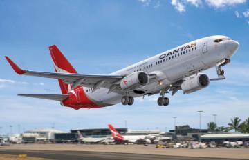 Boeing 737-800 Qantas · BPK 7218 ·  Big Planes Kits · 1:72