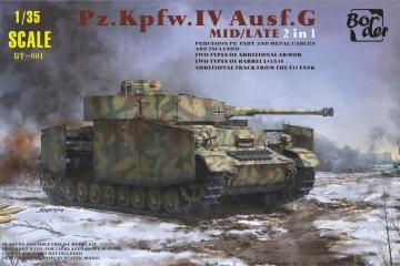 Pz.Kpfw.IV Ausf.G Mid/Late 2 in 1 · BM BT001 ·  Border Model · 1:35