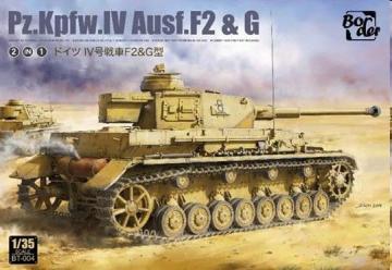 Pz.Kpfw.IV Ausf. F2 & G · BM BT004 ·  Border Model · 1:35