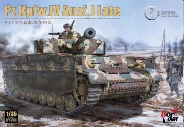 PZ.Kpfw.IV Ausf. J Last (2 in 1) · BM BT008 ·  Border Model · 1:35