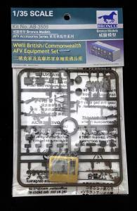 WWII British/Commonwealth AFV equipment set · BRON AB3509 ·  Bronco Models · 1:35