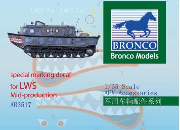 Special Marking Decal for LWS Mid-Produk · BRON AB3517 ·  Bronco Models · 1:35
