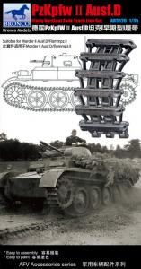 Pzkpfw.II Ausf.D (Early Version) Track Link Set · BRON AB3520 ·  Bronco Models · 1:35