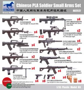 Chinese PLA Solider Small arms Set · BRON AB3537 ·  Bronco Models · 1:35
