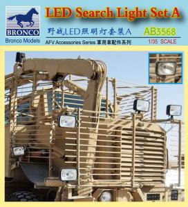 LED Search Light Set A. · BRON AB3568 ·  Bronco Models · 1:35
