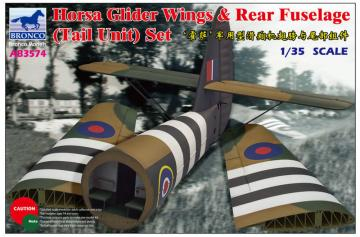 Horsa Glider Wing &Rear Fuselage (Tail · BRON AB3574 ·  Bronco Models · 1:35