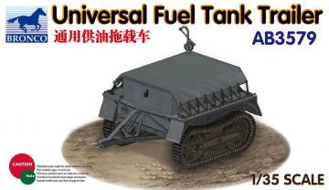 Universal Fuel Tank Trailer · BRON AB3579 ·  Bronco Models · 1:35