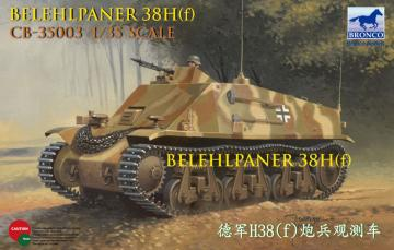 Befehlpanzer 38H(f) · BRON CB35003 ·  Bronco Models · 1:35