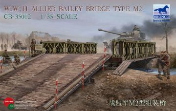 WWII Allied Bailey Bridge Type M2 · BRON CB35012 ·  Bronco Models · 1:35