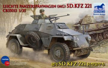 Sdkfz 221 Armored Car · BRON CB35013 ·  Bronco Models · 1:35