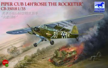 Piper Cub L4H Rosie the Rocketer · BRON CB35018 ·  Bronco Models · 1:35