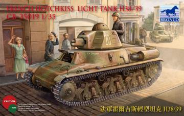French H38/39 Light tank ( 2 versions) · BRON CB35019 ·  Bronco Models · 1:35