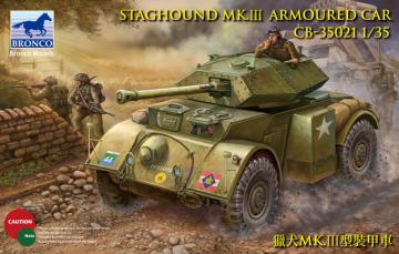 Staghound Mk.III · BRON CB35021 ·  Bronco Models · 1:35