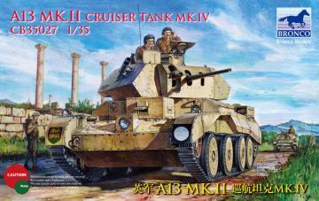 A13 Mk.I Cruiser Tank Mk. IV · BRON CB35027 ·  Bronco Models · 1:35