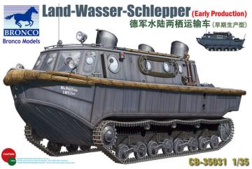 Land-Wasser-Schlepper (Early Prod.) · BRON CB35031 ·  Bronco Models · 1:35