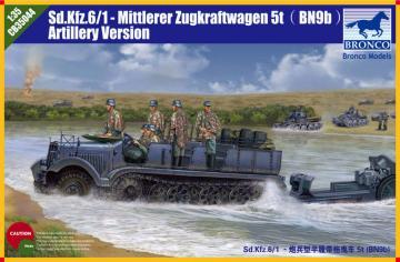 Sd.Kfz.6/1  5t (BN9b) Artillery Version · BRON CB35044 ·  Bronco Models · 1:35