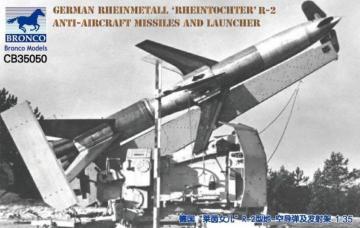 German Rheinmetall´Rheintochter R-2 anti-aircraft missiles a.launcher · BRON CB35050 ·  Bronco Models · 1:35