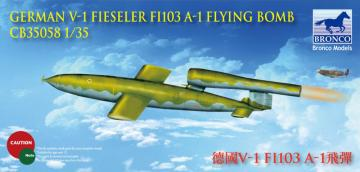 German V-1 Fi103 A-1 Flying Bomb Flying Bomb · BRON CB35058 ·  Bronco Models · 1:35