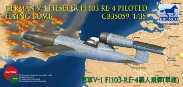 V-1 Fi103 Re 4 Piloted Flying Bomb · BRON CB35059 ·  Bronco Models · 1:35