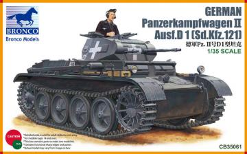 PanzerKampfwagen II Ausf D1 · BRON CB35061 ·  Bronco Models
