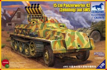 15cm Panzerwerfer 42 (Zehnling) auf sWS · BRON CB35070 ·  Bronco Models · 1:35