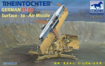 Rheintochter German R-3p Surface-to-Air Missile · BRON CB35075 ·  Bronco Models · 1:35