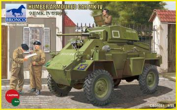 Humber Armored Car Mk.IV · BRON CB35081 ·  Bronco Models · 1:35
