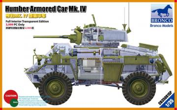 Humber Armored Car Mk.IV (Limited Editio 3.999 Only) · BRON CB35081SP ·  Bronco Models · 1:35