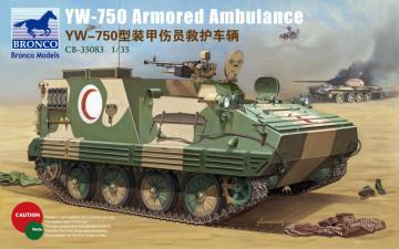 YW-750 Armored Ambulance Vehicle · BRON CB35083 ·  Bronco Models · 1:35